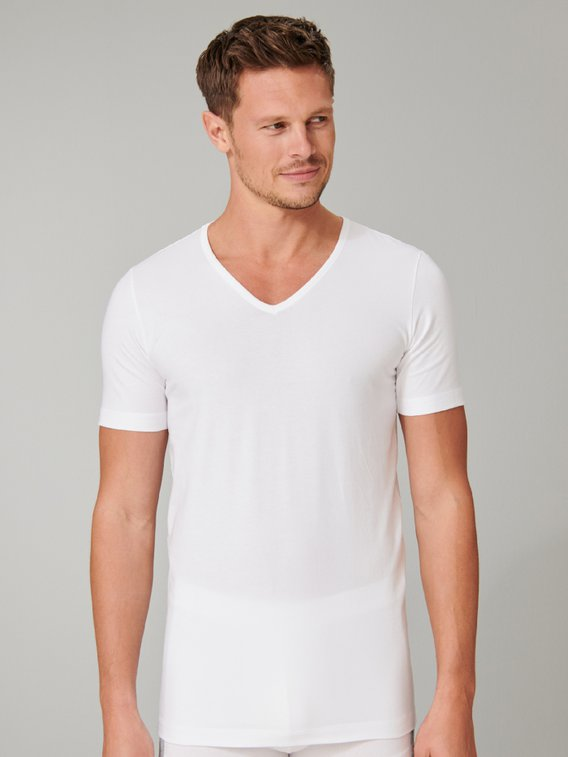 SCHIESSER 95/5 T-Shirt, 2er-Pack
