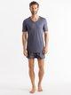 HANRO Ultralight Kurzarm-Shirt, V-Neck