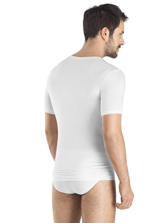 HANRO Cotton Superior Shirt, V-Ausschnitt
