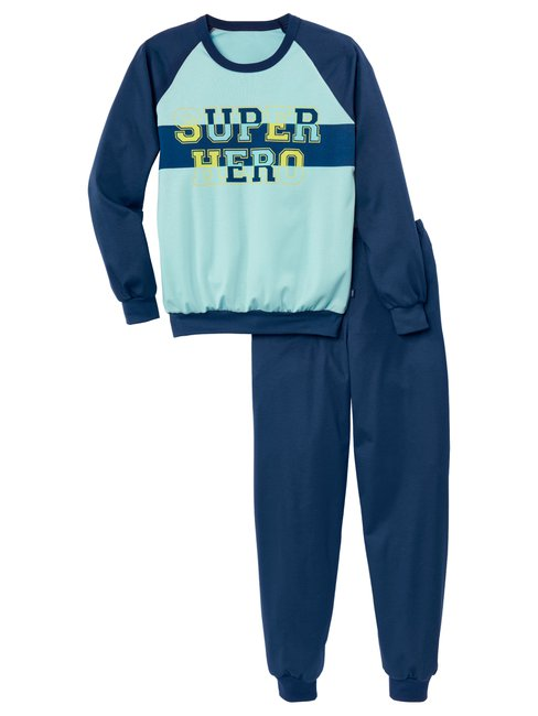 CALIDA Boys Hero Jungen Bündchen-Pyjama