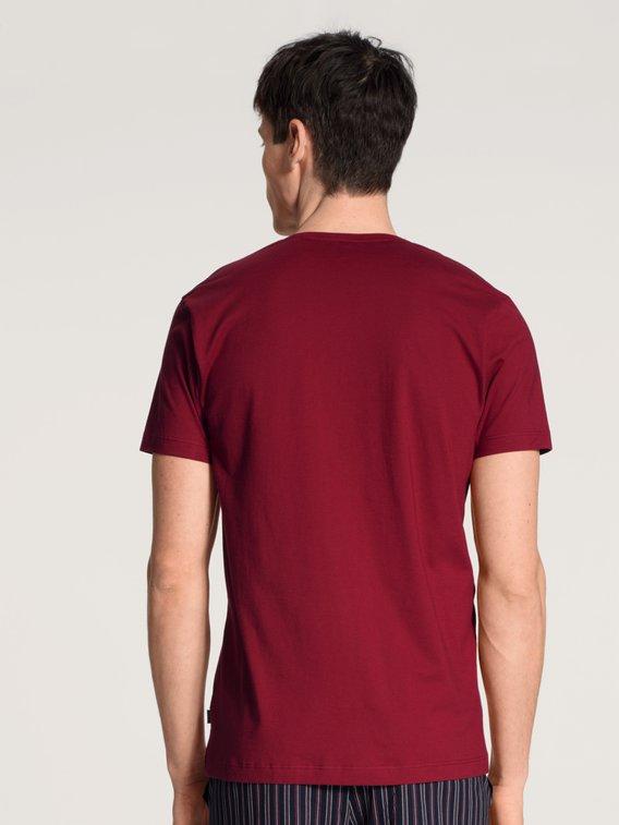 CALIDA Remix Basic Kurzarm-Shirt, V-Neck