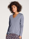 CALIDA Favourites Sense Langarm-Shirt, V-Neck
