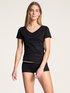 CALIDA Natural Joy Kurzarm-Shirt, V-Neck