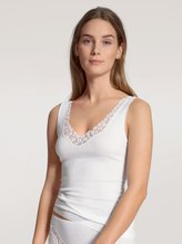 CALIDA Feminin Sense Tank-Top, V-Neck