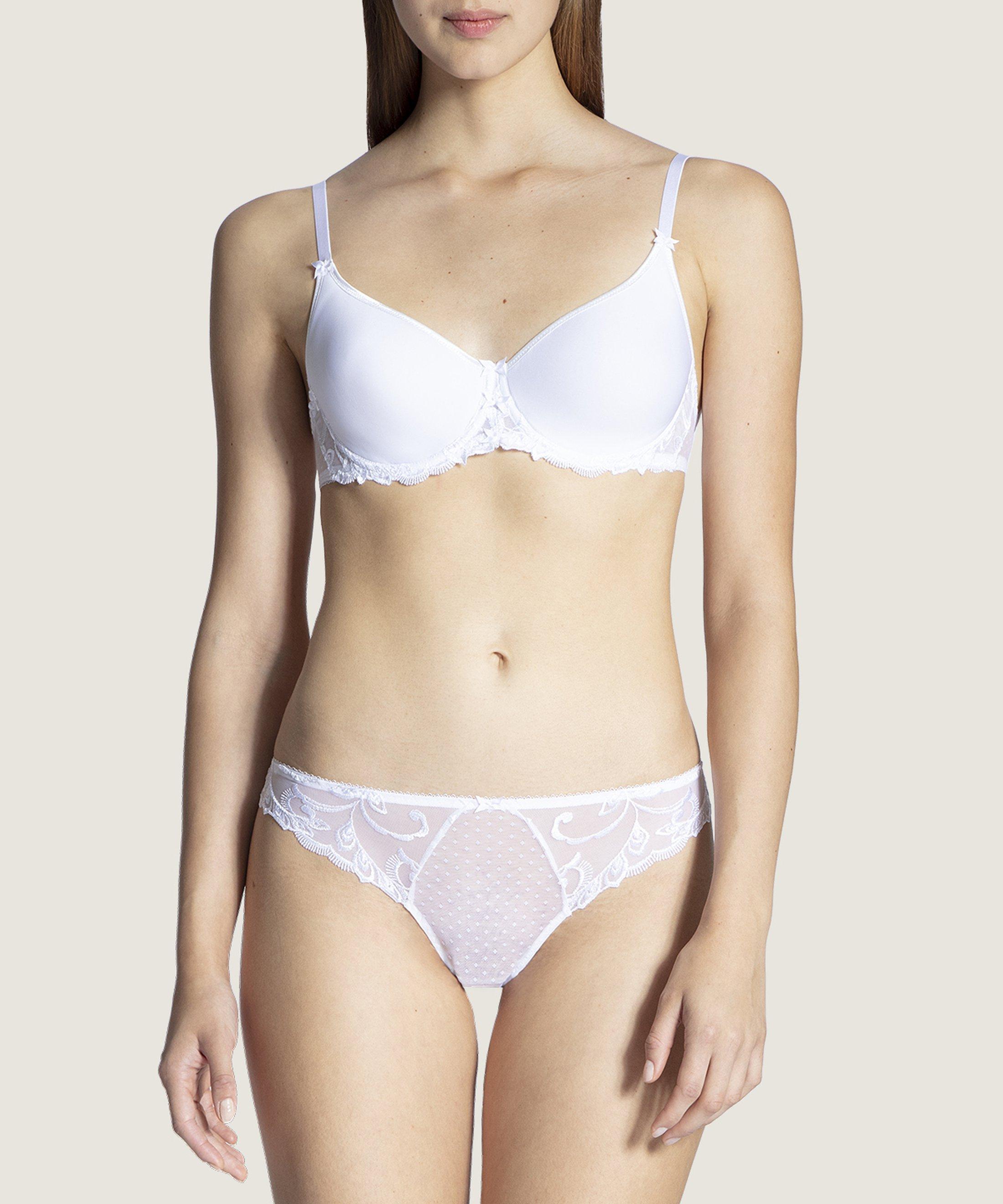 AU BAL DE FLORE Soutien-gorge T-shirt bra Blanc | Aubade