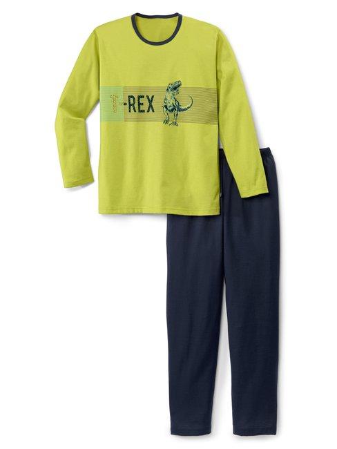 CALIDA Boys T-Rex Pigiama corto