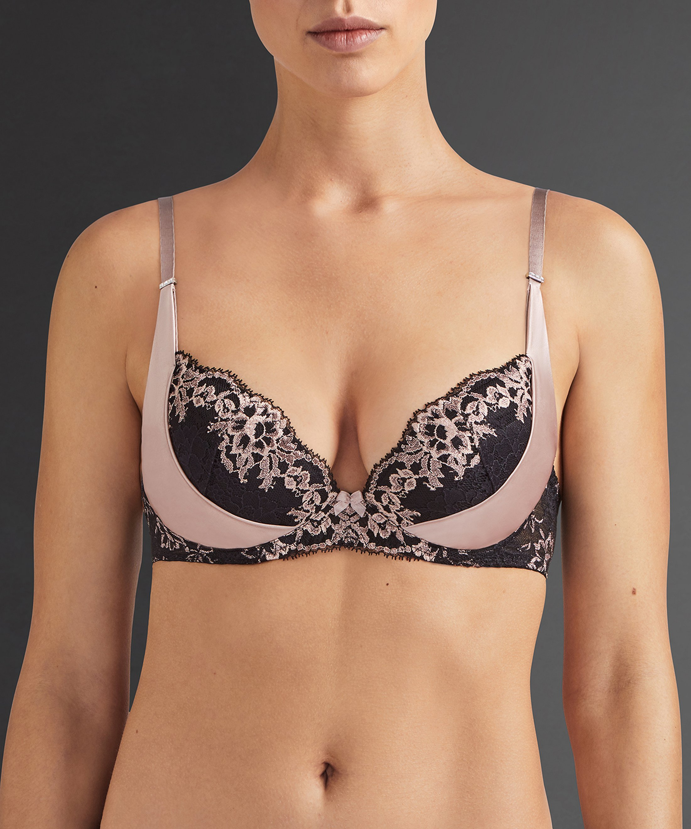 FEMME GLAMOUR Soutien-gorge push-up Rose Sonate | Aubade