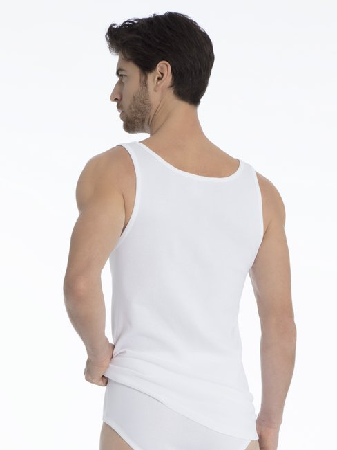 CALIDA Classic Twisted Cotton Athletic-Shirt 2er-Pack