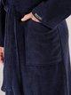 TAUBERT Sauna  Bademantel mit Schalkragen Länge 120 cm