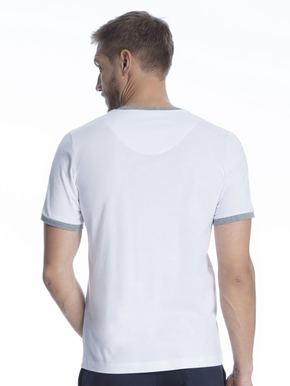 MARC O'POLO Mix Program Shirt, kurzarm