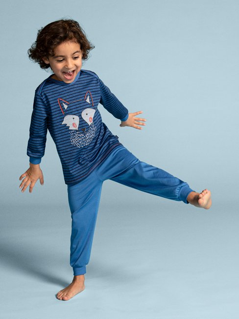 CALIDA Toddlers Wolf Kinder Pyjama lang