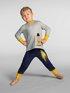 CALIDA Toddlers Astronaut Pigiama con polsini