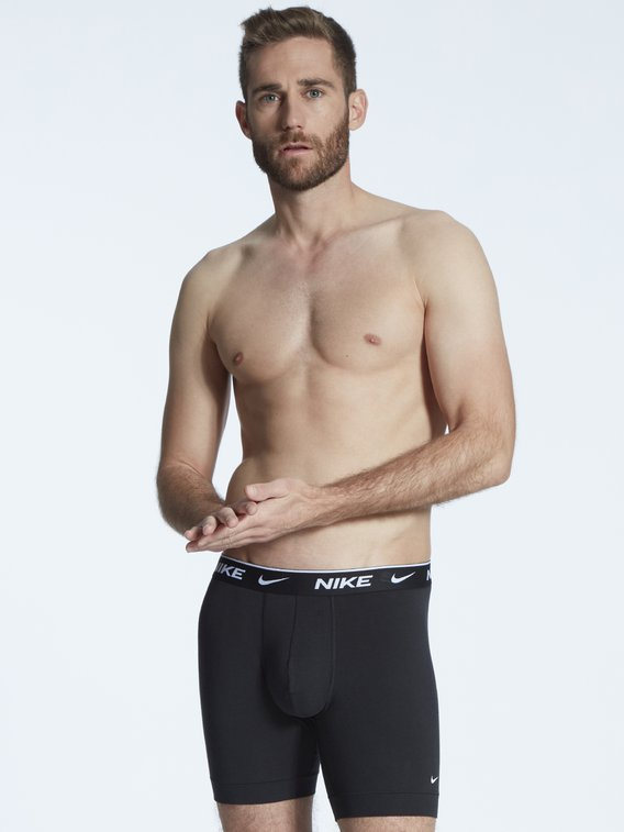 NIKE Everyday Cotton Stretch Boxer Brief, 2er-Pack