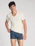 CALIDA 100% Nature T-Shirt, V-Neck, Compostable