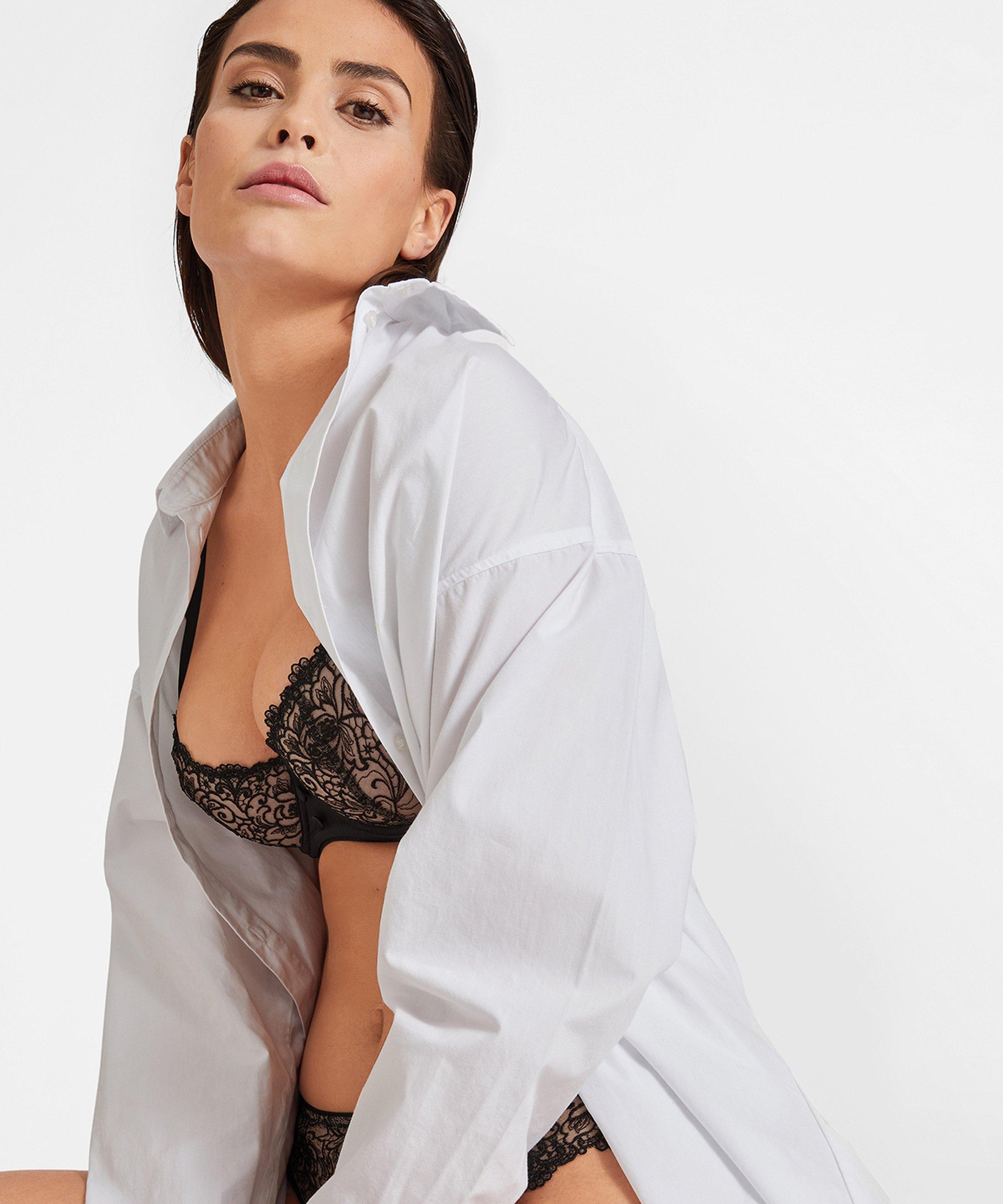 KARL LAGERFELD X AUBADE Soutien-gorge corbeille Noir Tuxedo | Aubade