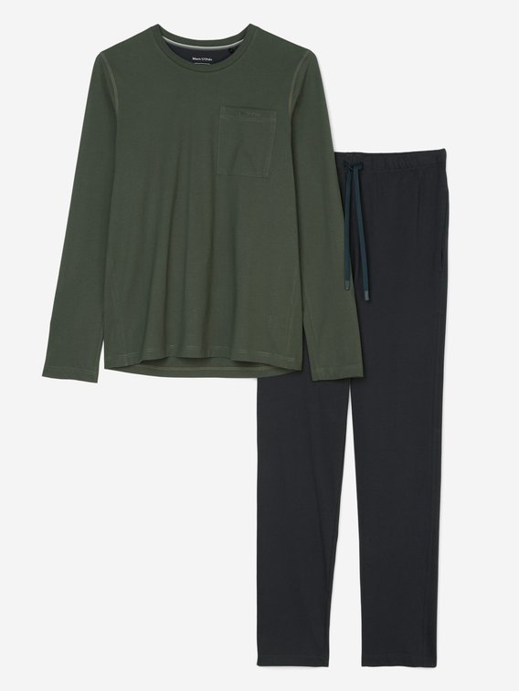 MARC O'POLO Loungeset Pyjama, lang