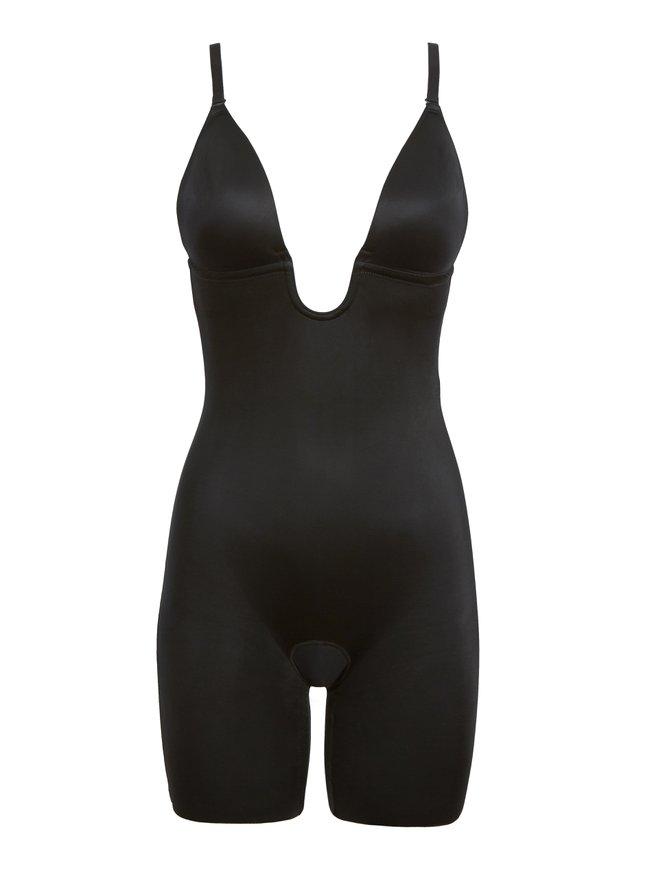 SPANX Suit Your Fancy Shaping-Suit mit tiefem Dekolleté