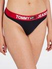 TOMMY HILFIGER Tommy Jeans String mit Logobund