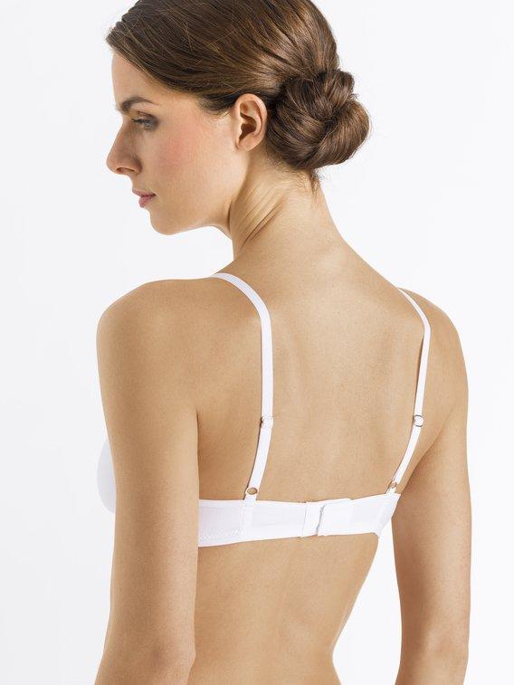HANRO Cotton Lace Spacer-BH ohne Bügel