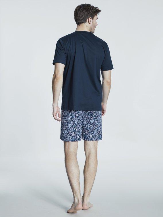 MEY Serie Saron Kurz-Pyjama