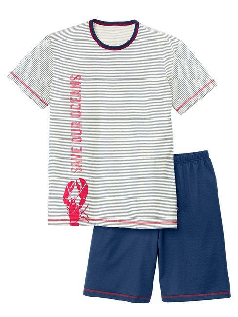 CALIDA Boys Ocean Jungen Kurz-Pyjama