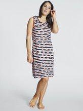 RINGELLA Women Ärmelloses Nachthemd, Länge 90cm