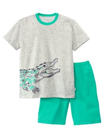 CALIDA Boys Crocodile Jungen Kurz-Pyjama