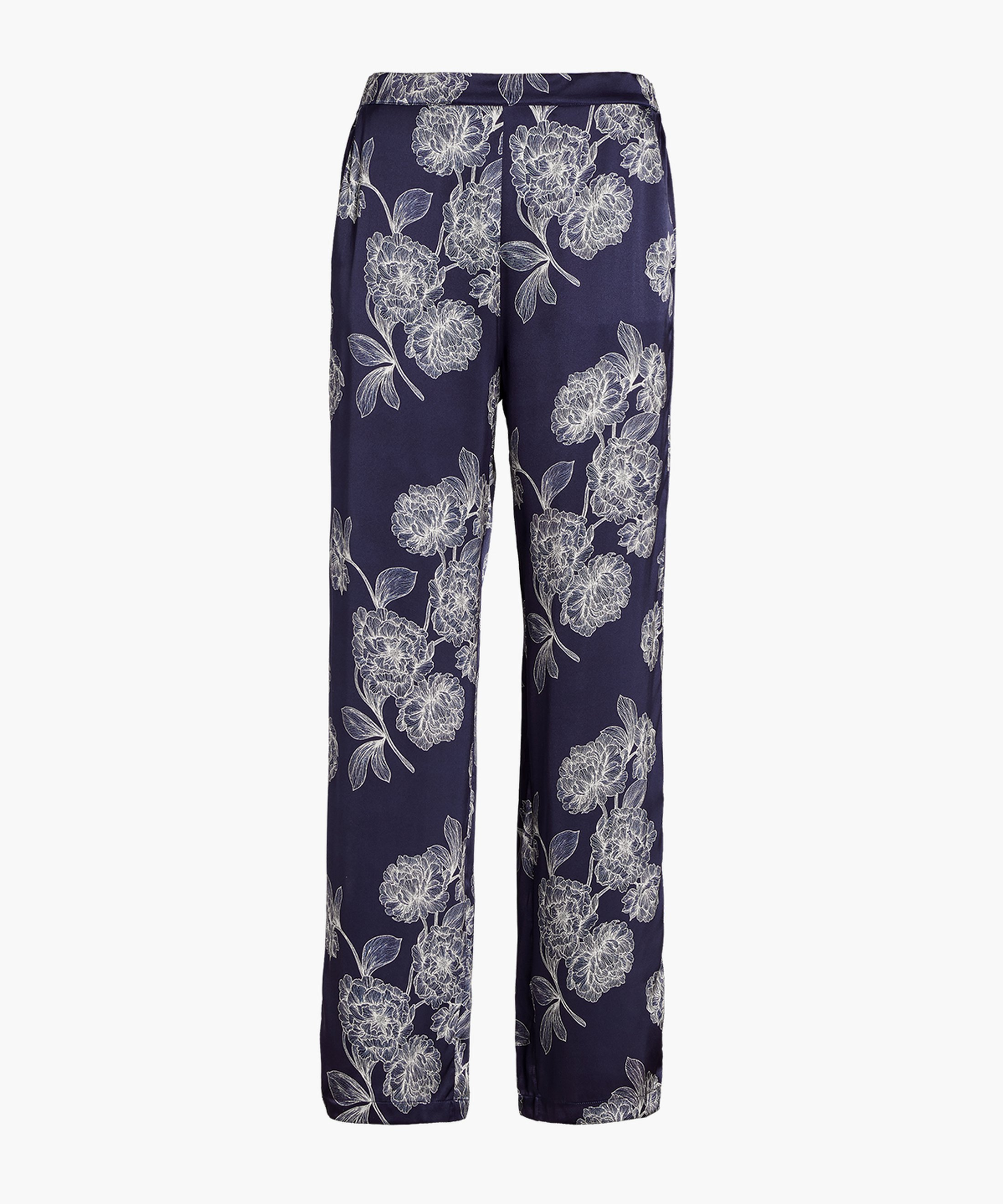 TOI MON AMOUR Silk Pants Night Blue | Aubade