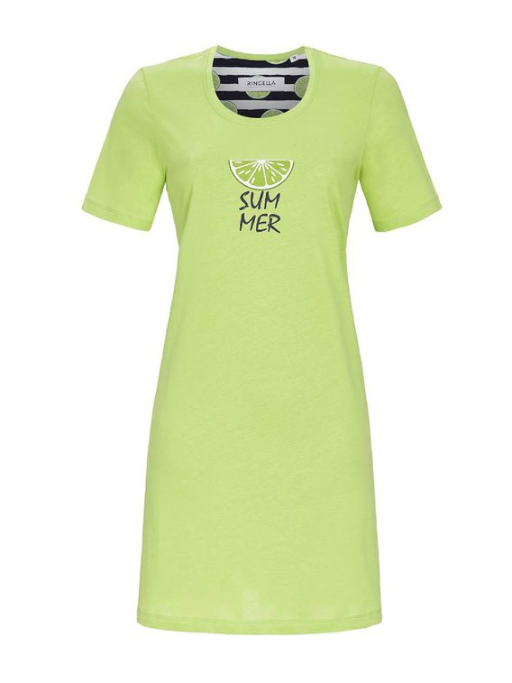 RINGELLA Women Kurzarm-Nachthemd, Länge 90 cm
