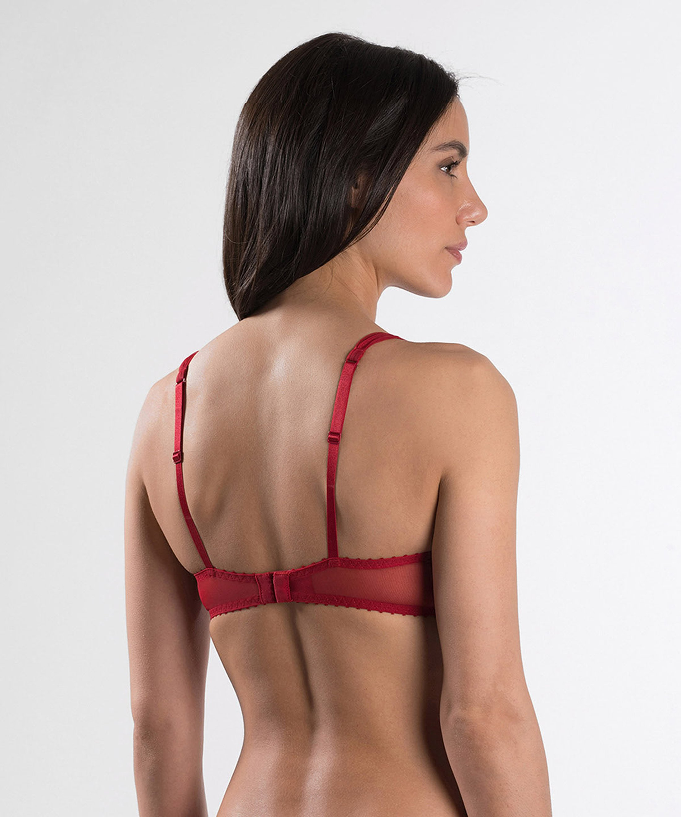 AUBADE À L'AMOUR Push-up-BH Rouge Darling | Aubade