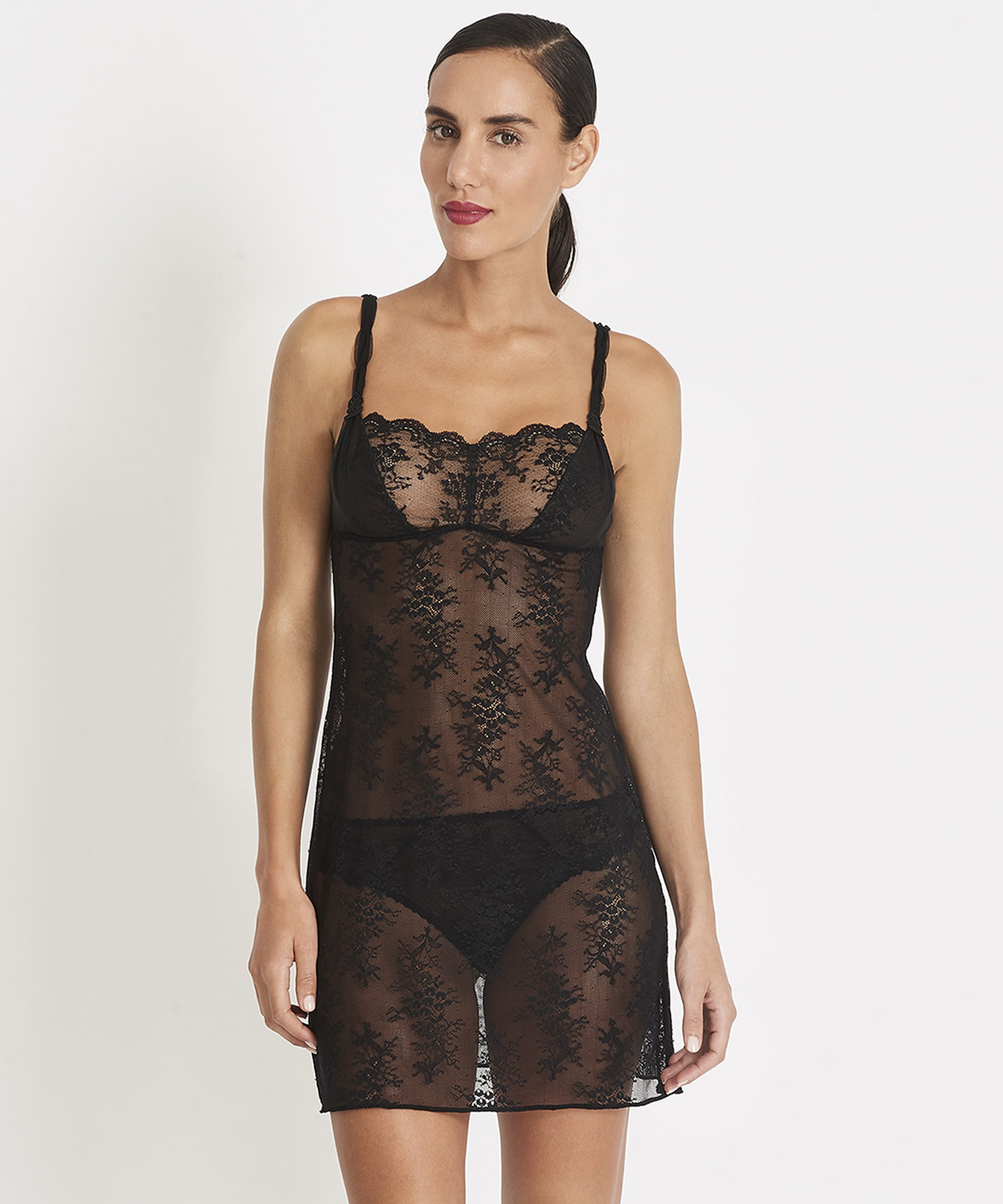 AUBADE À L'AMOUR Nightie Black | Aubade