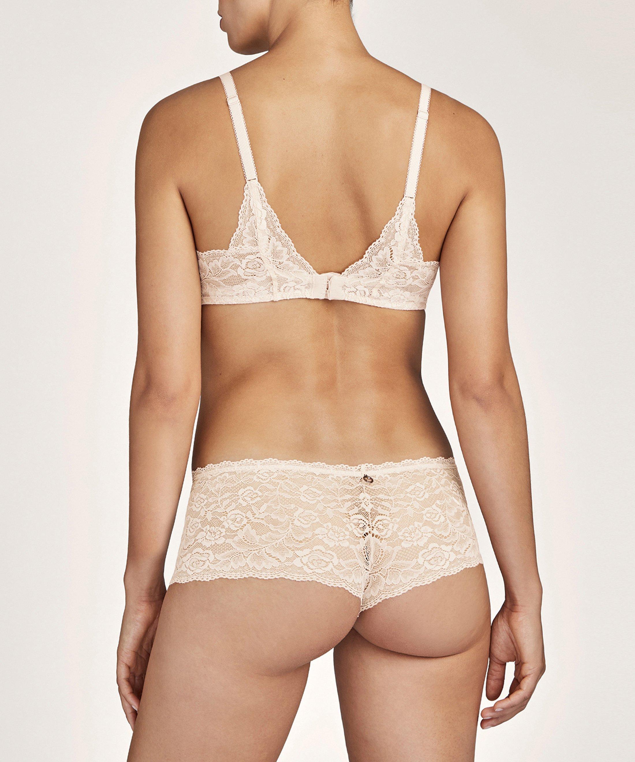 ROSESSENCE Scarf push-up bra Nude d'Été | Aubade