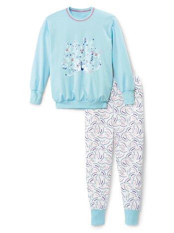 CALIDA Girls Elephant Mädchen Bündchen-Pyjama