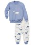 CALIDA Toddlers Whale Pyjama avec bords élastiques
