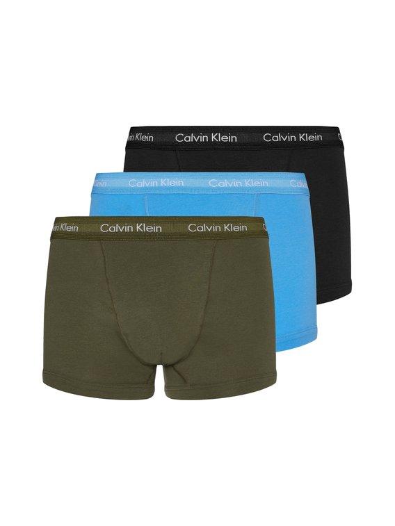 CALVIN KLEIN Cotton Stretch Trunk, 3er-Pack