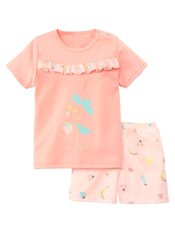 CALIDA Toddlers Fruit Kinder Kurz-Pyjama