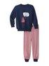 CALIDA Toddlers Robot Kinder Bündchen-Pyjama