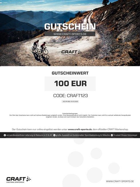 CRAFT  Geschenkgutschein (Design Bike)