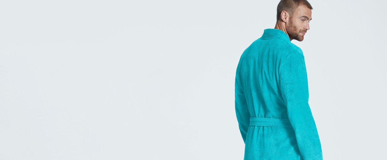 Tonsee Herren Badem/äntel Kapuzen Saunamantel Weich Morgenmantel Kuschelfleece Mode /Übergr/ö/ße Patchwork Saugf/ähige Robe Flanell Schal Handtuch Wickeln Sleepyhead mit G/ürtel Taschen