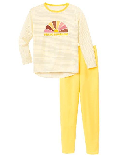 CALIDA Girls Sunshine Mädchen Pyjama
