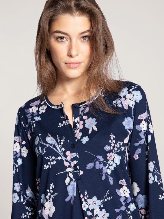 CALIDA Cosy Cotton Nights Langarm-Nachthemd