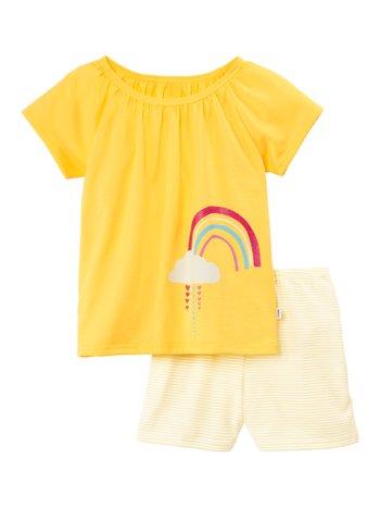 CALIDA Toddlers Sunshine Kinder Kurz-Pyjama