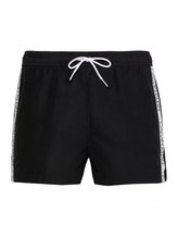 CALVIN KLEIN Core Logo Tape-S Kurze Bade-Shorts