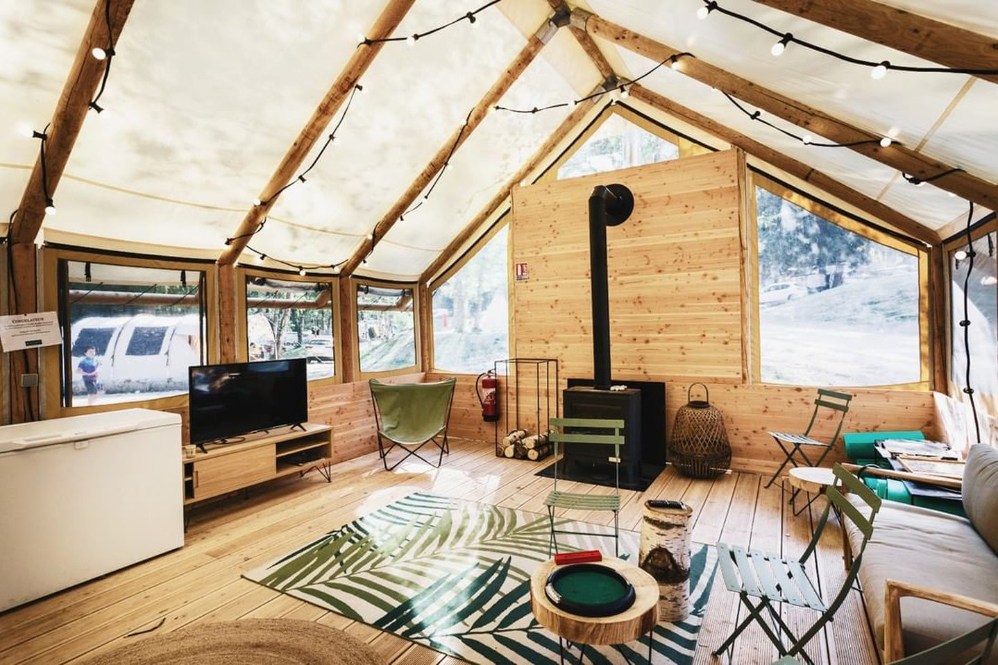What is Glamping ?