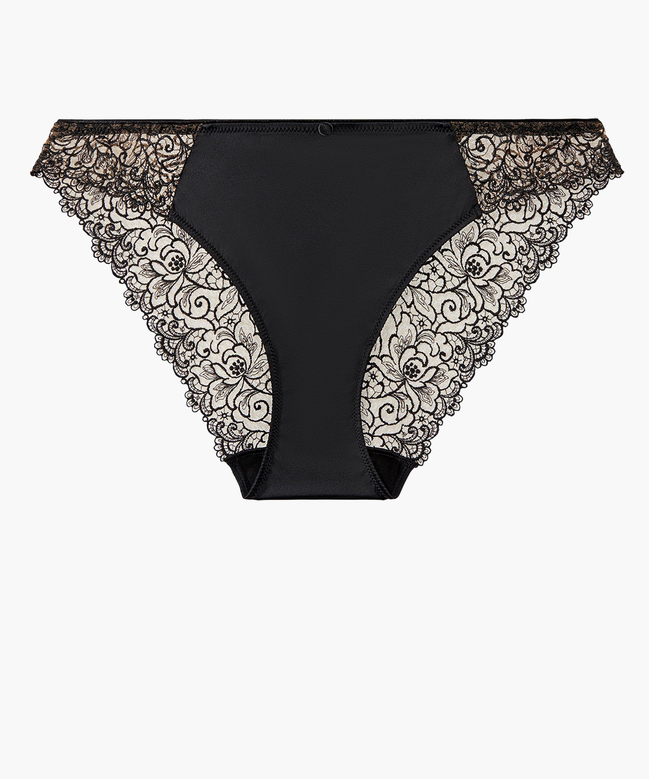 KARL LAGERFELD X AUBADE Culotte Italienne Noir Tuxedo | Aubade