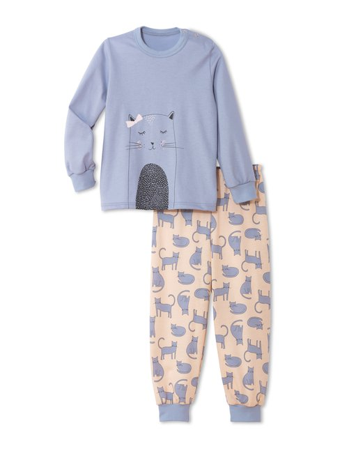 CALIDA Toddlers Cats Kinder Bündchen-Pyjama