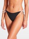 CALVIN KLEIN CK Logo Ties-S Cheeky Bikini-Hose
