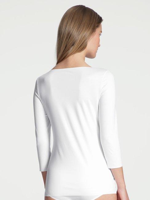 CALIDA Natural Luxe Shirt, 3/4-Arm