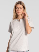 TRIUMPH Lounge-Me Cotton Kurzarm-Shirt