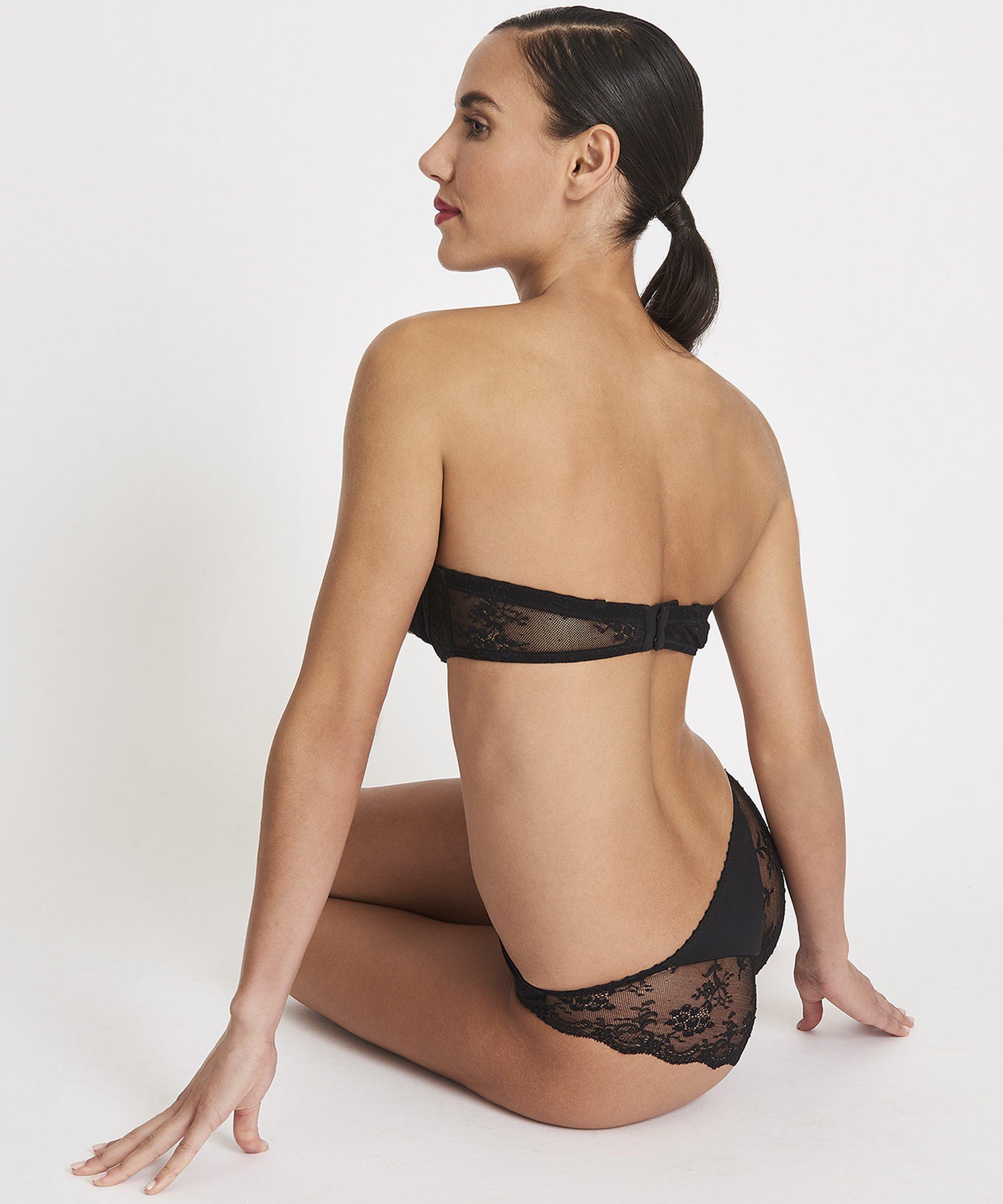 AUBADE À L'AMOUR Culotte Italienne Noir | Aubade